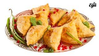 Самосы. Индийская кухня. Рецепт из «Золотой тысячи»