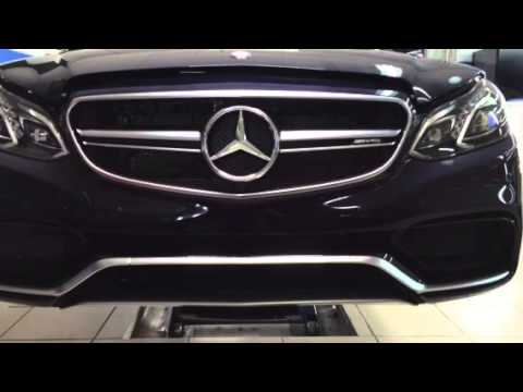 Mercedes E63 W212 Front License Plate Bracket Youtube