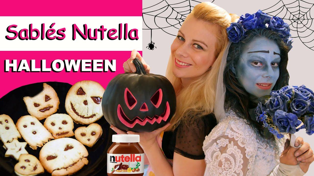 Sabl s nutella halloween virginie fait sa cuisine 32 youtube - Virgine fait sa cuisine ...