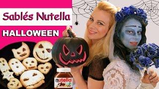 Sablés Nutella HALLOWEEN ♡ Virginie fait sa cuisine [32]