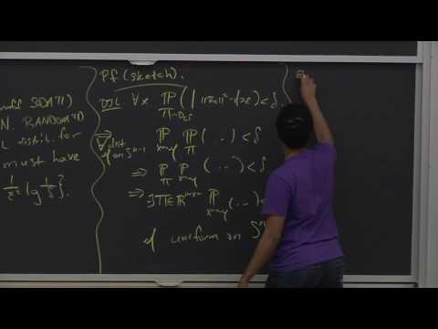 Algorithms for Big Data (COMPSCI 229r), Lecture 12