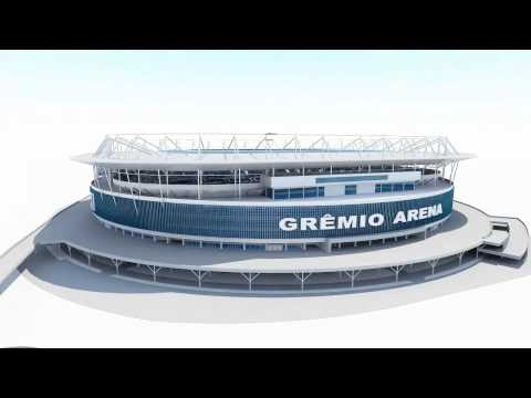 Grêmio Arena - The finest and advanced stadium of Brazil World Cup 2014