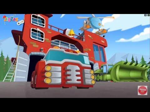 Transformers Rescue Bots Hero Adventures   Episode 1   ZigZag Kids HD