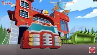 Transformers Rescue Bots Hero Adventures | Episode 1 | ZigZag Kids HD