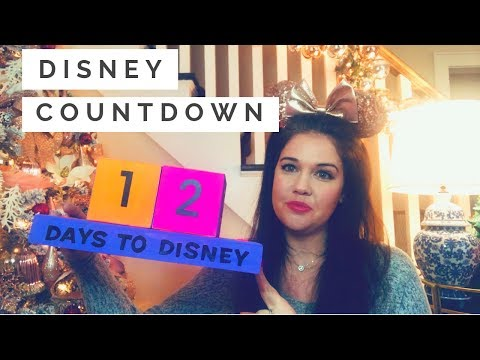 DIY DISNEY COUNTDOWN | How to Make Block Countdown Calendar 2019