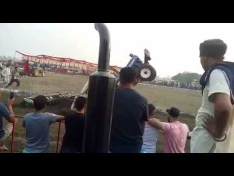 POWER Holland Tractor Punjab MELA Stunt Fail ★ JATT DA TRACTOR Video HD