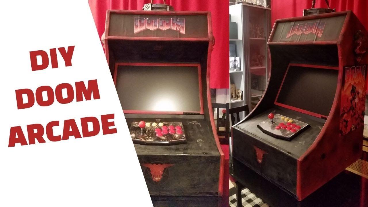 Classic DooM Arcade Machine - YouTube