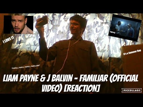 Liam Payne & J Balvin - Familiar (Official Video) [REACTION]