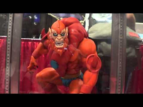 NYCC 2013 He Man and Beast Man Statue by PCS Collectibles