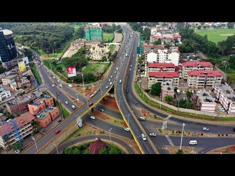Beautiful Scenery of Parklands Area in Nairobi Kenya: Westlands, Ngara, City Park & Diamond Plaza