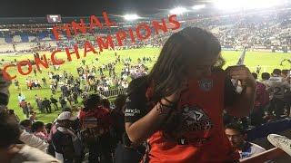 Final Concachampions con la UltraTuza. Pachuca vs Tigres