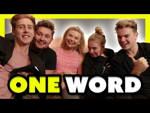 ONE WORD CHALLENGE ft Jack Maynard Toff Mikey and Anna