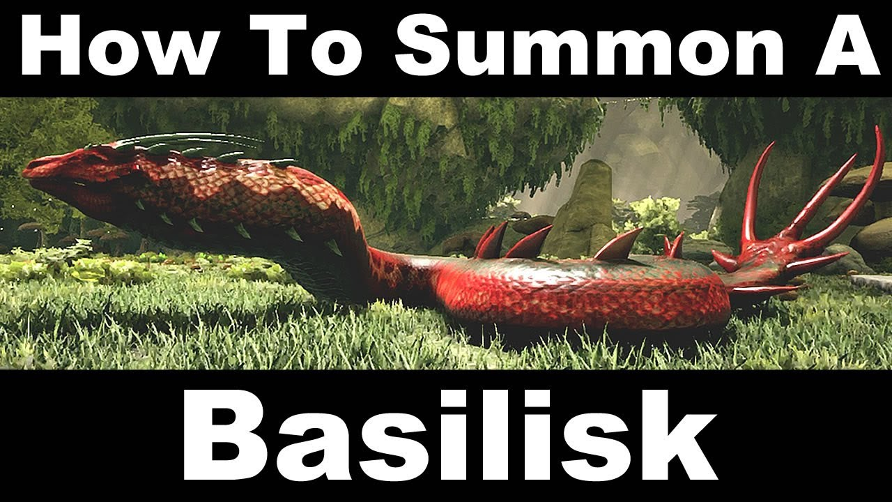 How to summon a basilisk ark aberration youtube how to summon a basilisk ark aberration malvernweather Gallery