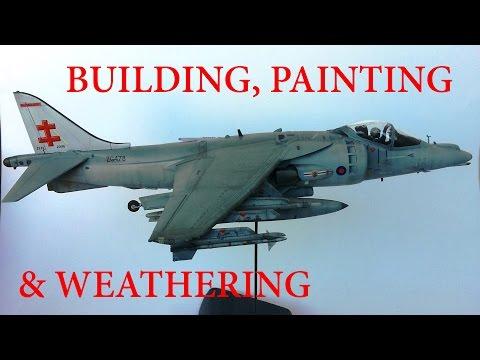 Building, Painting & Weathering: Harrier Gr.9 1/48 Eduard - Full Video Build
