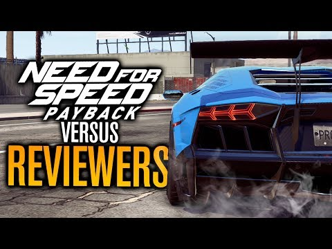 Need for Speed Payback VS Reviewers