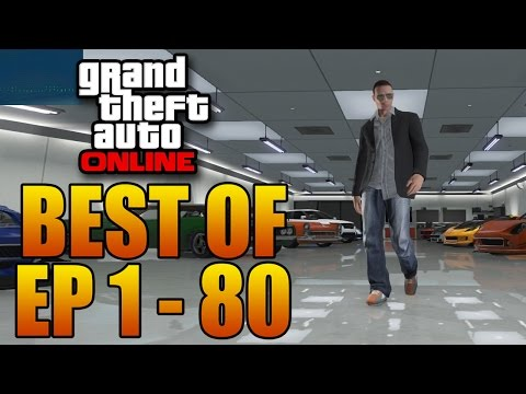 Grand Theft Auto 5 Multiplayer - Highlights From The First 80 Episodes! (GTA Online Let's Play)