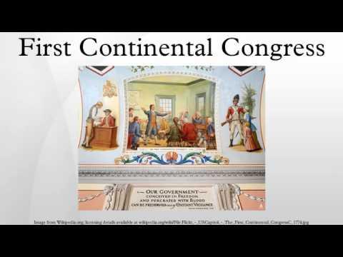 First continental congress essay