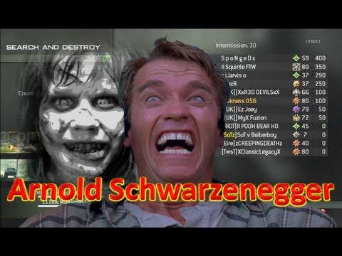 arnold schwarzenegger needs an exorcism on mw3 soundboard gaming