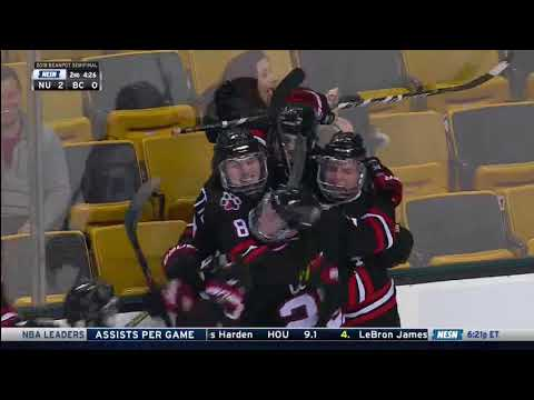Northeastern vs. Boston College - Beanpot Highlights - 02/05/2018