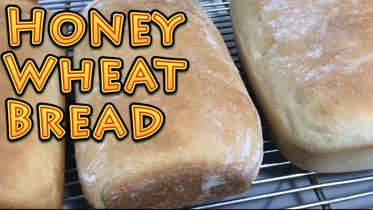 Honey Wheat Bread EASY!