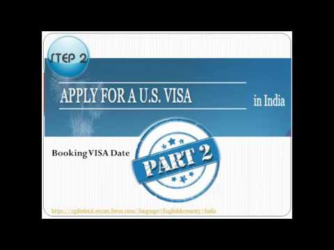 Step 2: How To Schedule F-1 VISA Interview Slot. (Part 2) - VISA Slot Booking