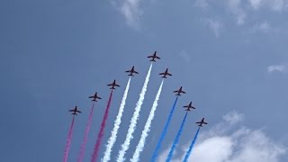 VE Day 70th Anniversary Flypast over London