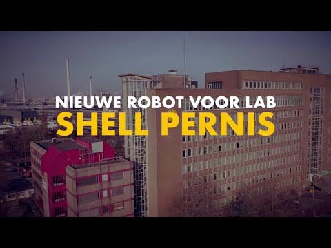 Nieuwe robot voor lab Shell Pernis