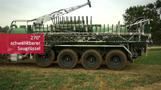 garant Kotte 4-Achser PQ 32.000 mit 36 m Schleppschlauchverteiler