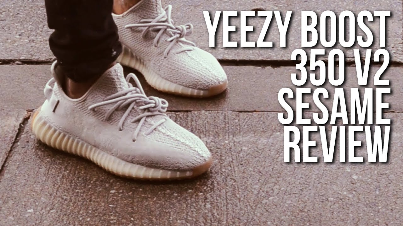 new concept eca84 e1d99 Sesame Yeezy 350 V2 , is it boring or hype? On Feet and Review