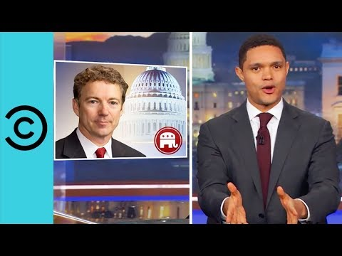 Senator Rand Paul Attacked Over Grass Clippings? | The Daily Show