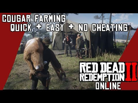 🐈 10 Cougar Locations RDR2 Online Daily Challenge Location Guide Red Dead Redemption 2 Online from YouTube · Duration:  1 minutes 16 seconds