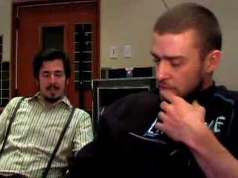 Justin Timberlake - reba session