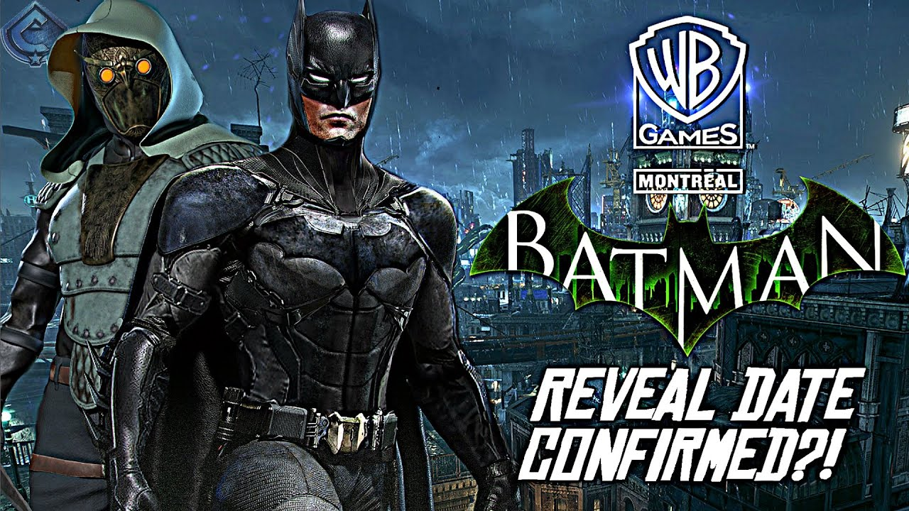 New Batman Game - OFFICIAL REVEAL DATE CONFIRMED?! Смотри на OKTV.uz