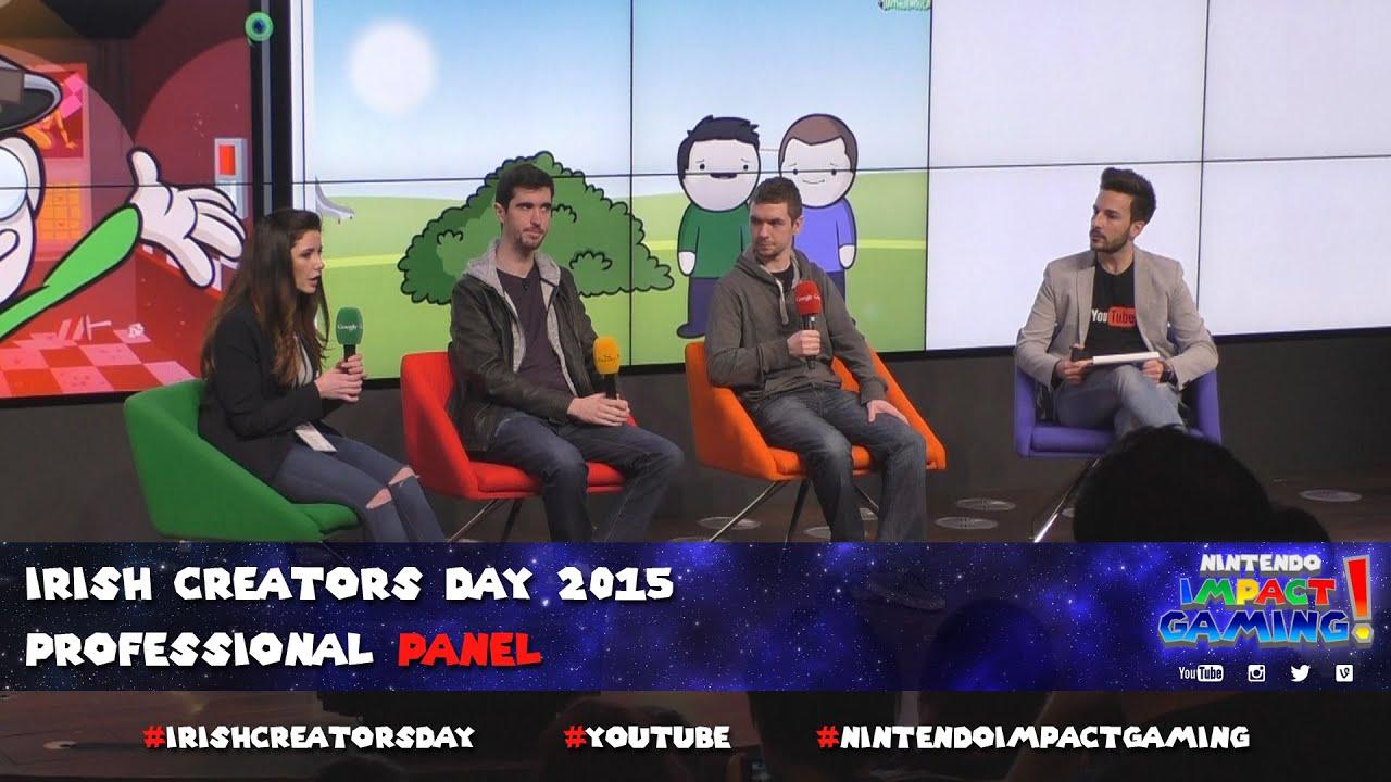 Irish Creators Day 2015 Professional Panel