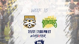 Charleston Battery vs Tampa Bay Rowdies full match