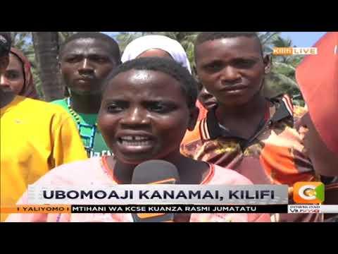 Ubomoaji Kanamai kaunti ya Kilifi