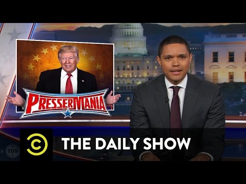 The Daily Show - Processing Trump's Press Conference