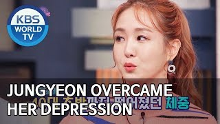 Jungyeon overcame her depression [Happy Together/2020.01.16]
