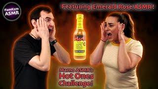 ASMR Hot Sauce Challenge With Emerald Rose ASMR!