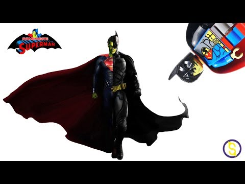 LEGO Custom Composite Superman Minifigure Review World