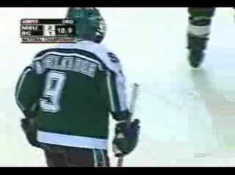 2007 Hockey Championship - MSU 3, BC 1
