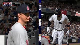 MLB The Show 18 (Boston Red Sox Season Mode) Game #153 - BOS @ NYY