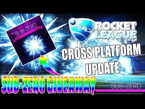 LIVE/ROCKET LEAGUE/ SUBZERO GIVEAWAY /CROSS PLATFORM AND  NEW SEASON UPDATE/TRADING