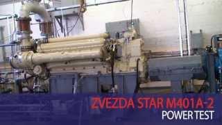 Zvezda Star M401A-2 Power test