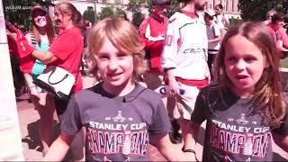 Capitals Victory Parade a family affair
