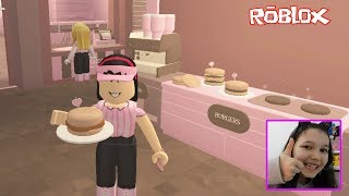 Roblox - TRABALHAMOS NO McDonalds ? (Fast Food) Jeux Luluca