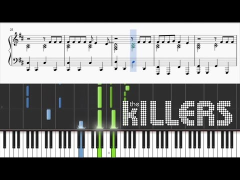 The Killers  A Dustland Fairytale  Piano Tutorial + SHEETS