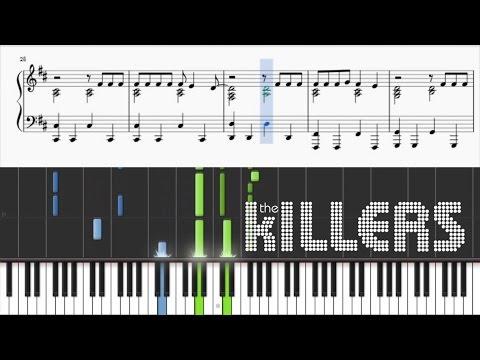 The Killers - A Dustland Fairytale - Piano Tutorial + SHEETS