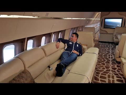 Flying the Presidential VIP Boeing 727 Private Jet