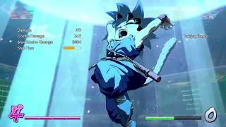 DBFZ GT Goku 2x Spirit Bomb combos